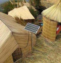 Solar lighting in villages