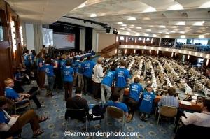 The youth are watching-final plenary. Photo Credit Robert Van Waarden
