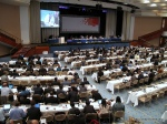View of the daily plenary session