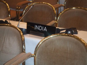 India at the plenary
