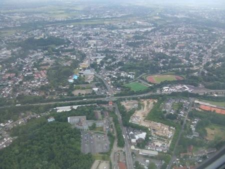 Eagles view of Bonn