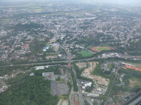 Eagles view of Bonn