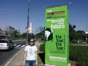Countdown to Copenhagen, Parque do Ibirapuera, São Paulo, Brazil / Contagem regressiva para Copenhague, Parque do Ibirapuera, São Paulo, Brasil